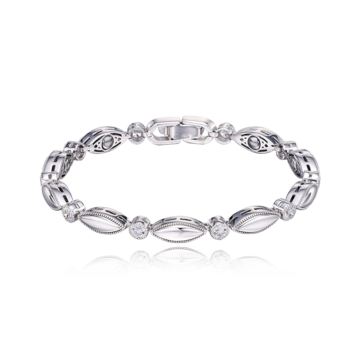 Silver Germanium Women Bracelet S98